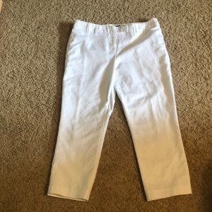 Willi Smith white Capris
